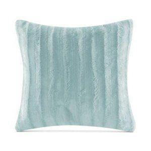 Madison Park Duke Faux Fur Square Pillow